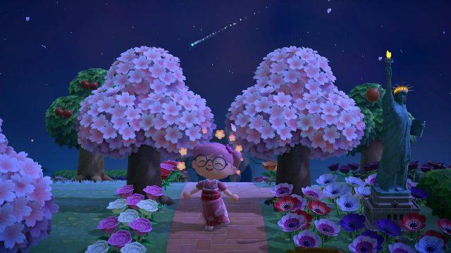 animal crossing cherry blossom