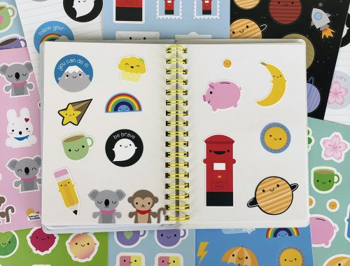 kawaii sticker sheets