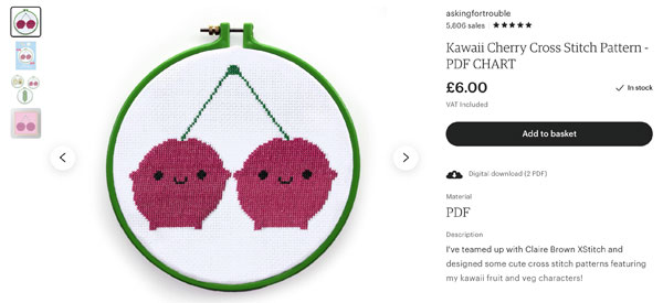 How We Made Our Cross Stitch Patterns