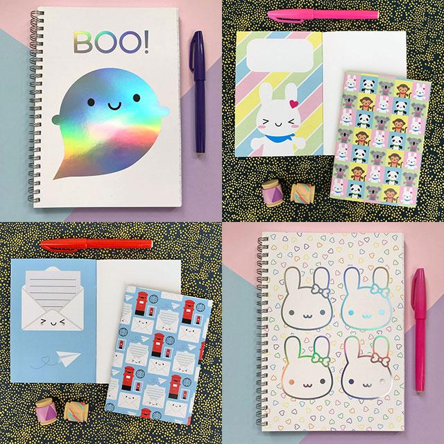 kawaii notebooks