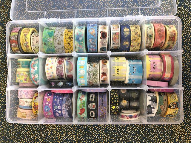 washi tape storage box