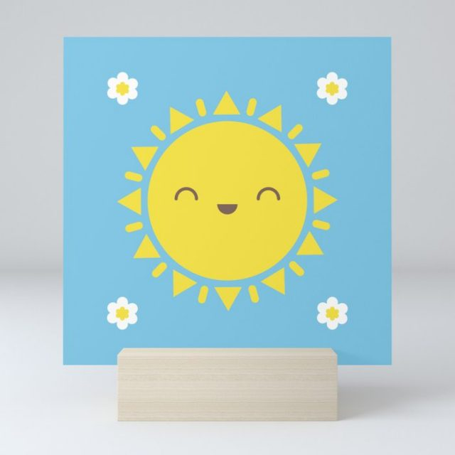 sunny days print