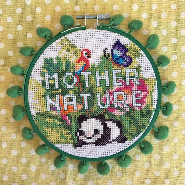make happy club cross stitch pattern