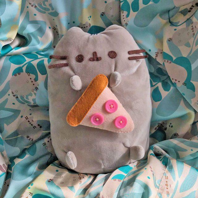 Pusheen plush sewing kit