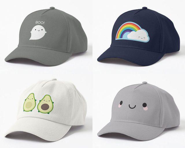 kawaii dad hats