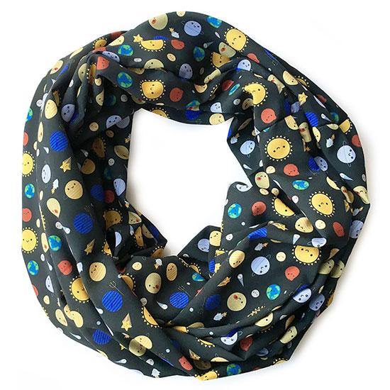 solar system scarf