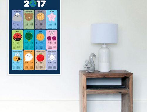 2017 calendar - redbubble