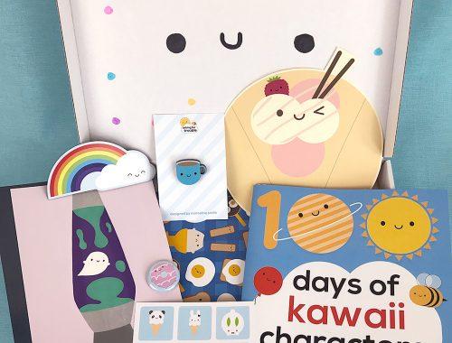 100 Days of Kawaii Characters Surprise Box