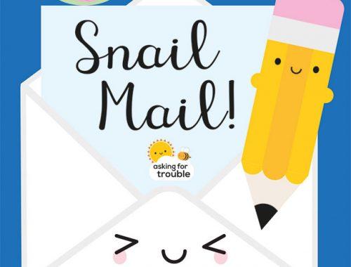 snail mail Patreon theme