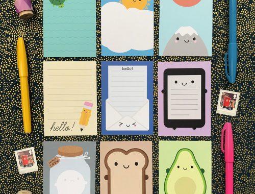 kawaii stationery - mini memo sheets