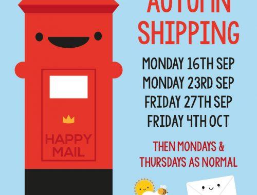 autumn shipping