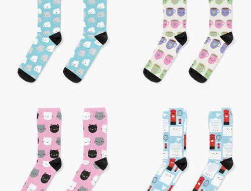 Cute Socks Redbubble