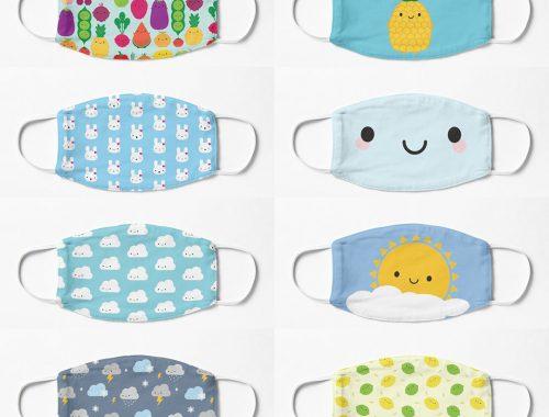 Popular Kawaii Face Masks