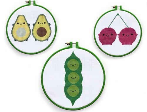kawaii cross stitch patterns